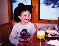 A happy Cowboy